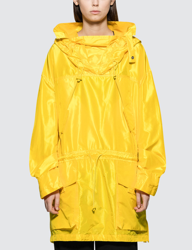 Maison Margiela Silk Taffeta Jacket Yellow Women