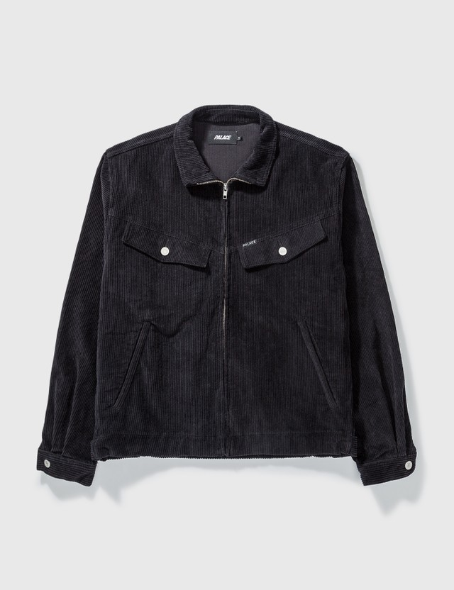 Palace Skateboards Palace Skateboards Corduroy Jacket Black Archives