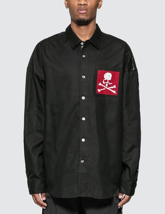 Mastermind World Skull Pocket Oxford Shirt