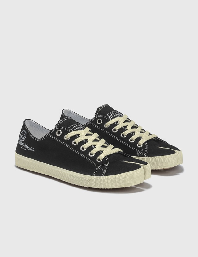 Maison Margiela Tabi Low Top Sneakers Black Men
