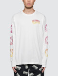 Billionaire Boys Club Gradient Helmet Print L/S T-Shirt Picture