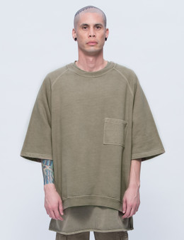 YEEZY Season 3 Crop Sleeve Raglan T-Shirt