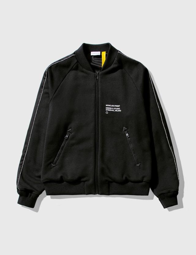 Moncler Genius 7 Moncler Frgmt Hiroshi Fujiwara Bomber Jacket Black Men