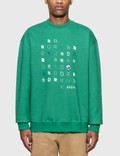Ader Error Artwork Graphic Sweatshirt Picutre