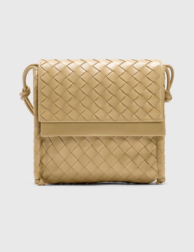 Bottega Veneta Small BV Fold Tapioca/tapioca-gold Women
