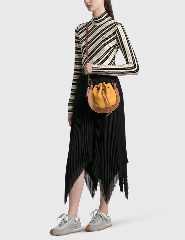 Loewe Small Horseshoe Bag Narcisus Yellow/tan Women