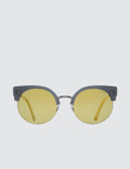 Super By Retrosuperfuture Era Gold Sunglasses Picutre