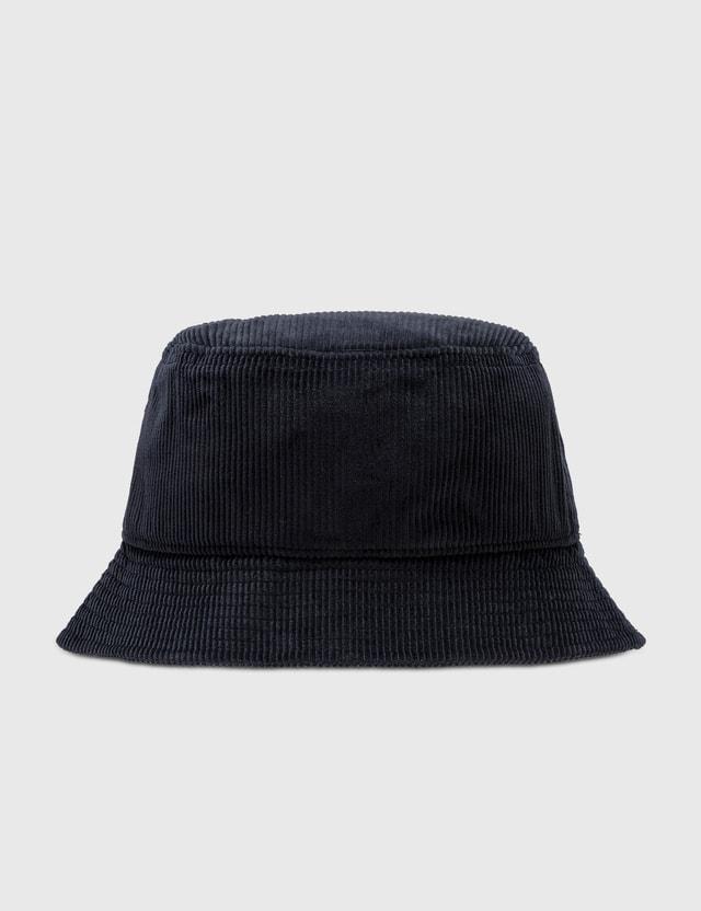 Carhartt Work In Progress Corduroy Bucket Hat Dark Navy Men