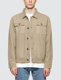 Infinite Archives Guess x Infinite Archives Canvas Worker Jacket Picutre