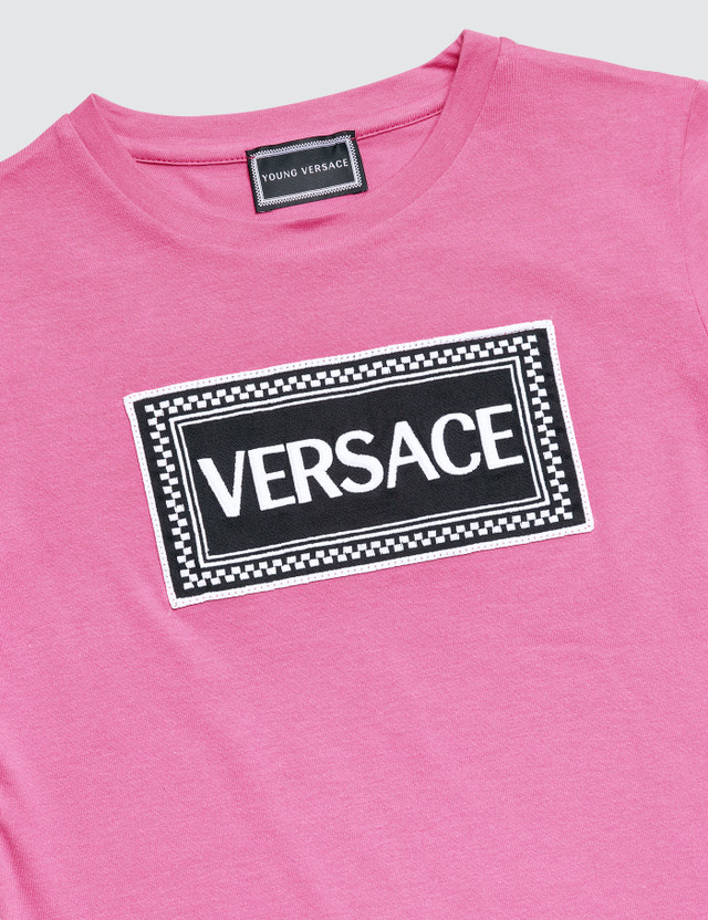 3835b618 Versace - Versace Box Logo T-Shirt (Toddler) | HBX