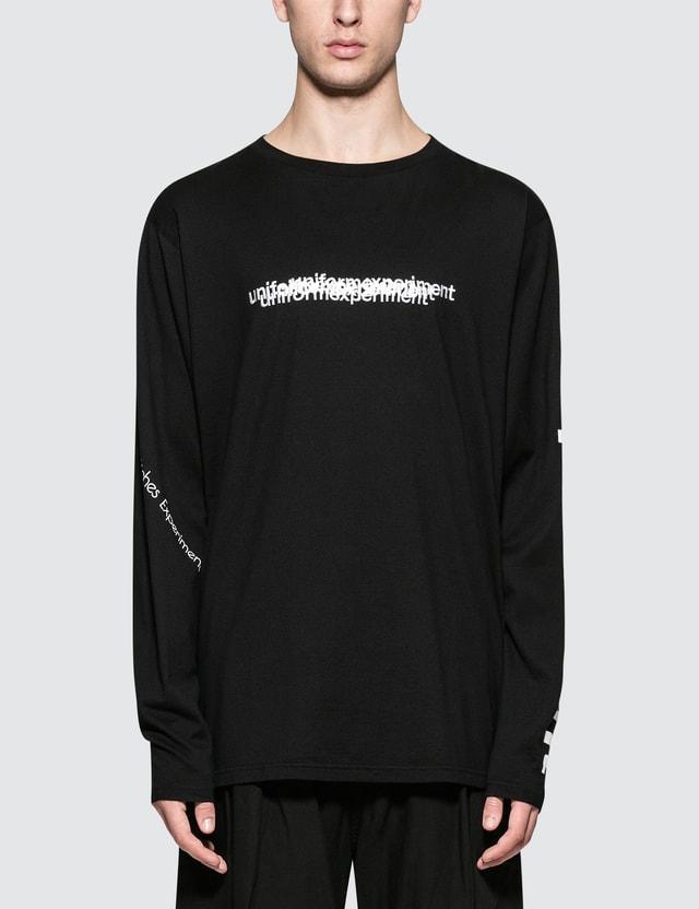 uniform experiment L/S Reversible Big T-Shirt