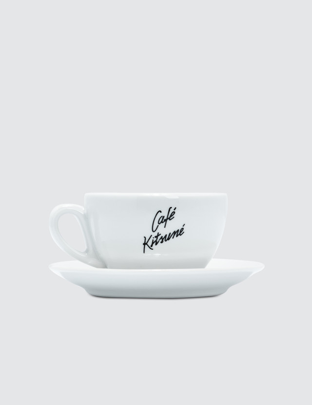 Maison Kitsune Cafe Kitsune Cup & Saucer Ceramic Size M