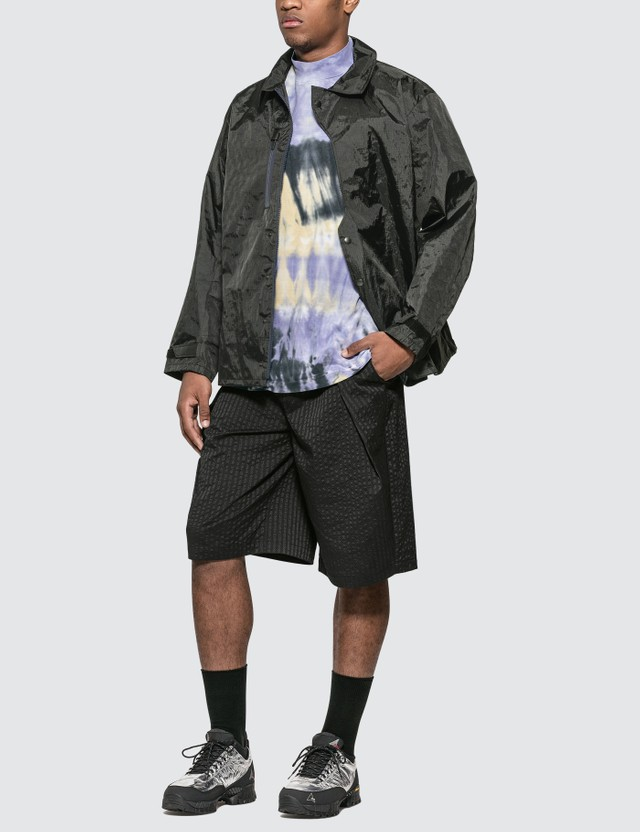 Sasquatchfabrix. Tye-dye Mockneck Half Sleeve T-shirt