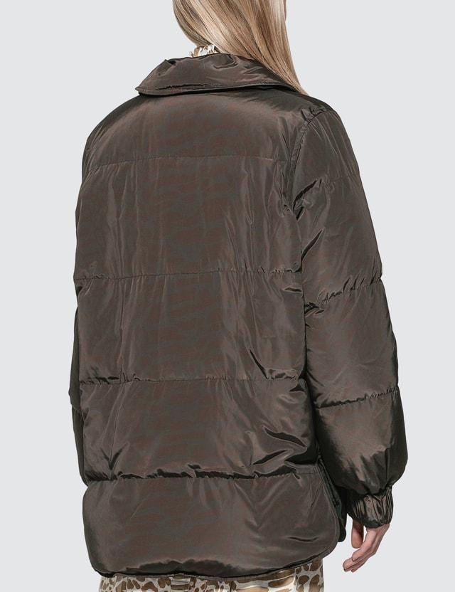 Ganni Printed Tech Down Jacket