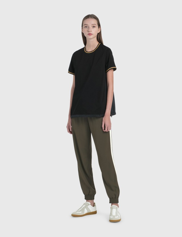 Moncler Logo Elastic Waisted Pants Olivie Women
