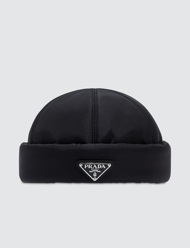 3166cefa3362c Prada - Padded Nylon Beanie Hat