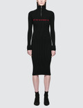 Misbhv Extacy Half-zip Dress Picture