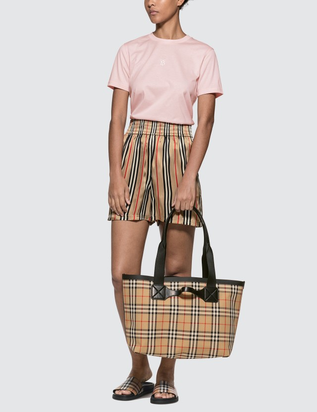 Burberry Medium Vintage Check Austen Tote