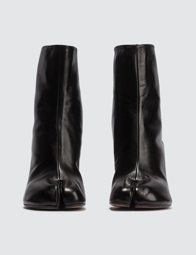 Maison Margiela Tabi Hologram Leather Boots