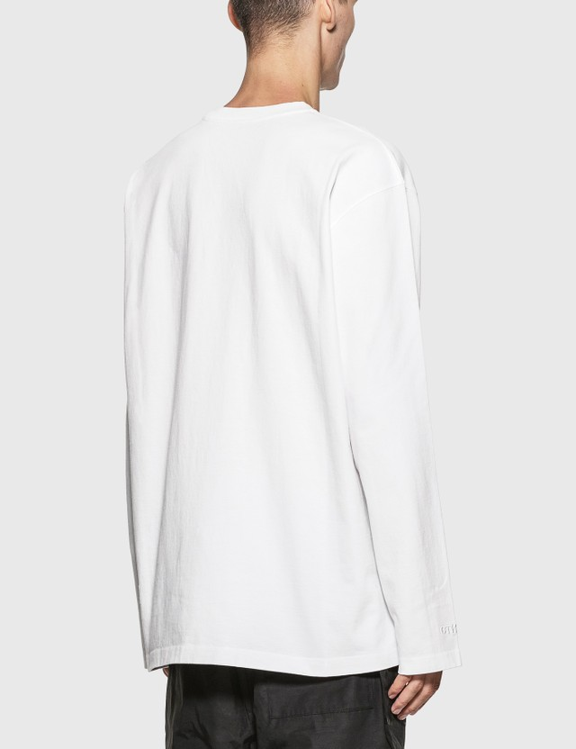 Heron Preston OS Heron Times Long Sleeve T-Shirt