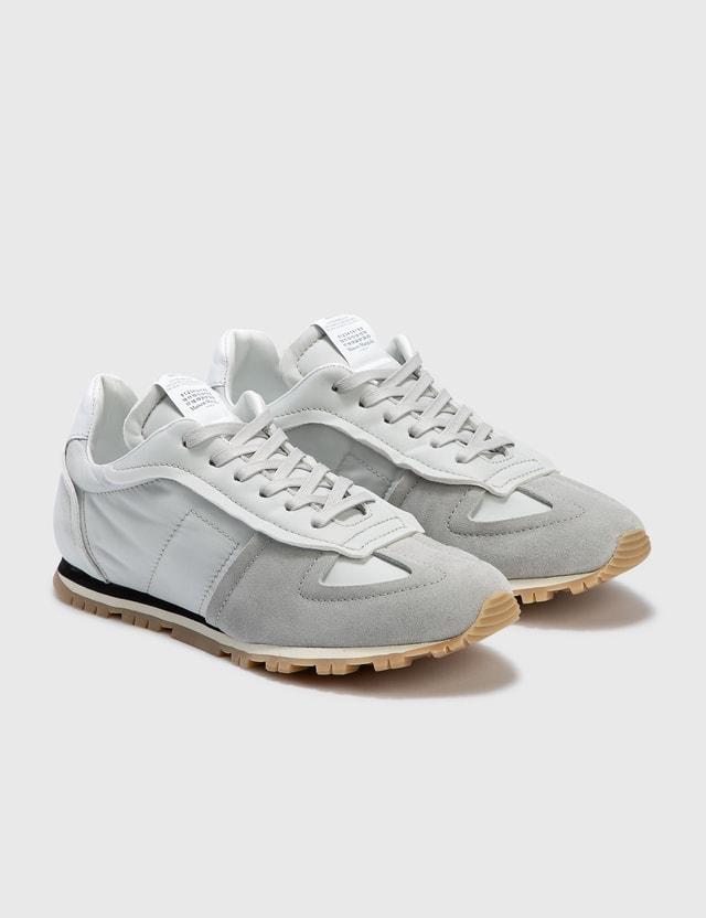 Maison Margiela Nylon Runner Silver / Chalk / White Men