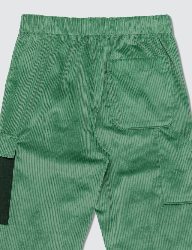 Acne Studios Payden Corduroy Trousers Dusty Green Men