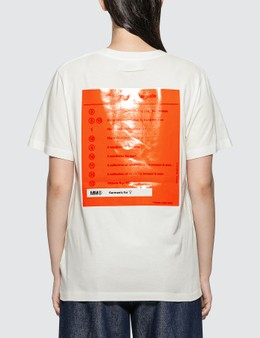 MM6 Maison Margiela Back Detail Printed T-shirt