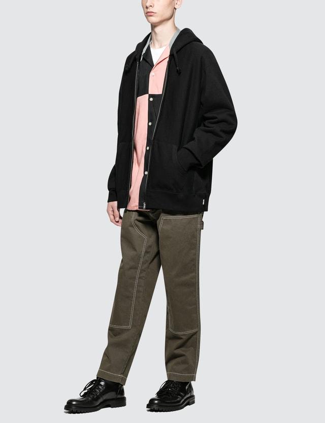 Wacko Maria Heavy Weight Full Zip Hooded Sweat Shirt ( Type-2 )