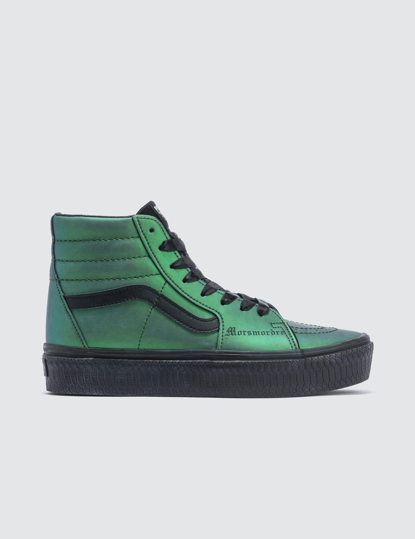 harry potter green vans