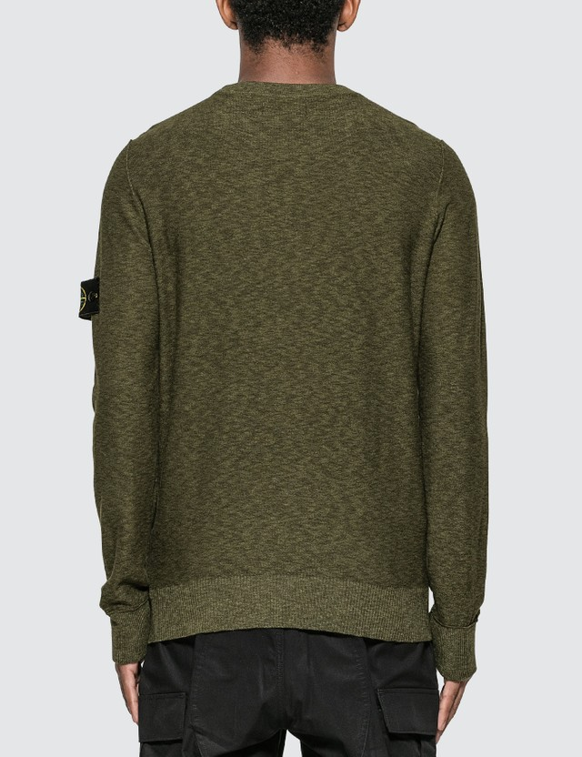 Stone Island Melange Knit Sweater