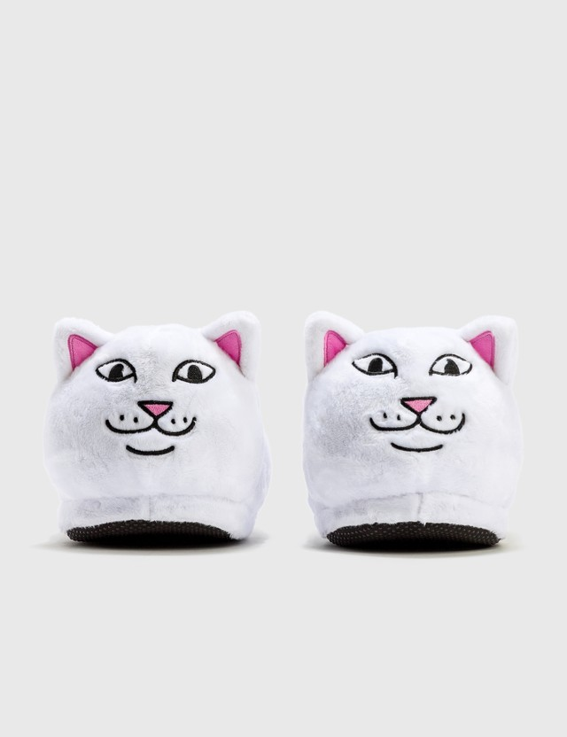 RIPNDIP Lord Nermal Slippers White Unisex