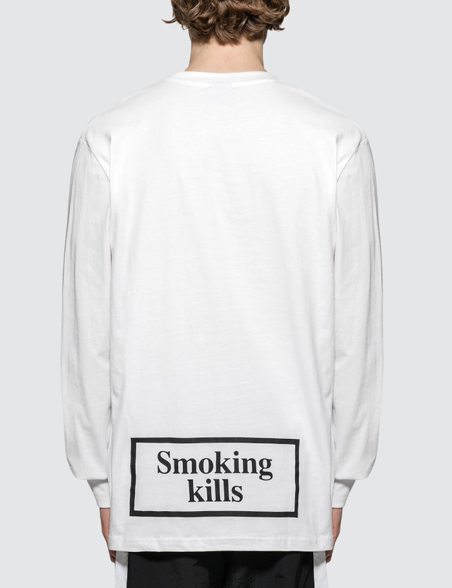 Carrots #FR2 x Carrots No Smoking Wordmark L/S T-Shirt