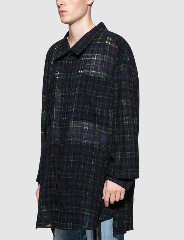 Faith Connexion Check Overshirt