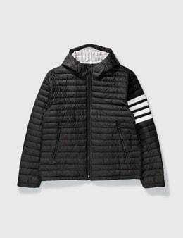 Thom Browne 4 Bar Stripe Downfill Qulited Jacket