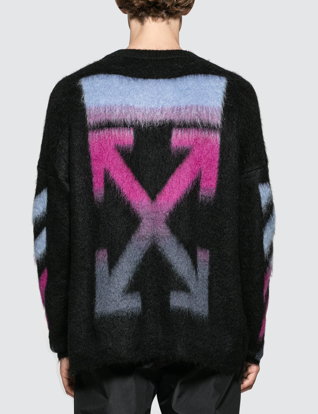 Off-White Brushed Mohair Sweatshirt