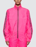 Fiorucci Tyvek Neon Pink Bomber Jacket Picutre