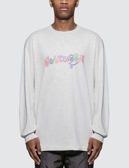 Saintwoods Color Letter L/S T-Shirt