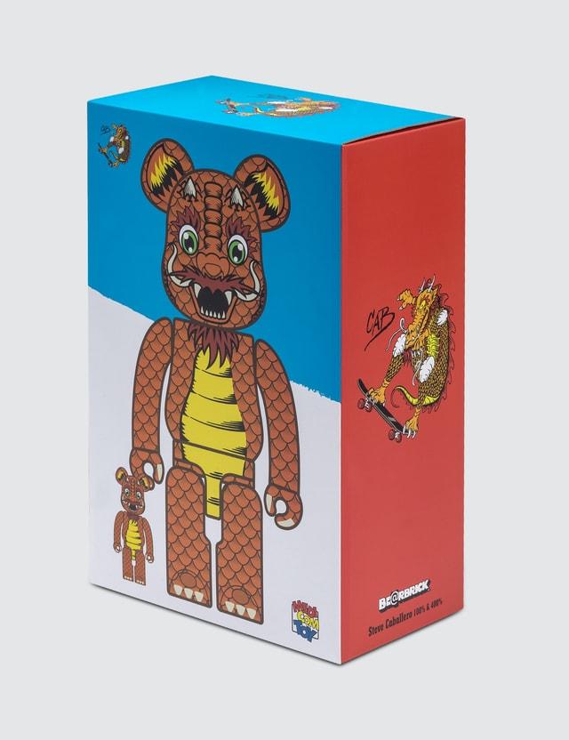 Medicom Toy Steve Caballero Bearbrick 400% + 100% Set