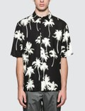 MSGM Palm Tree Print S/S Bowling Shirt Picture
