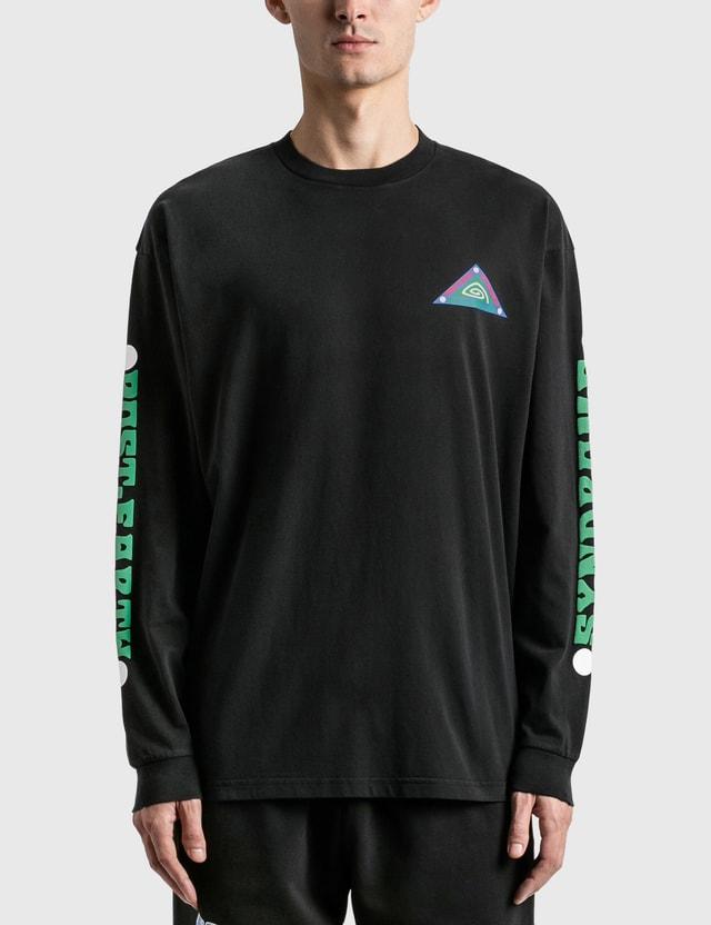 Brain Dead Post Earth Syndrome Long Sleeve T-Shirt Black Men