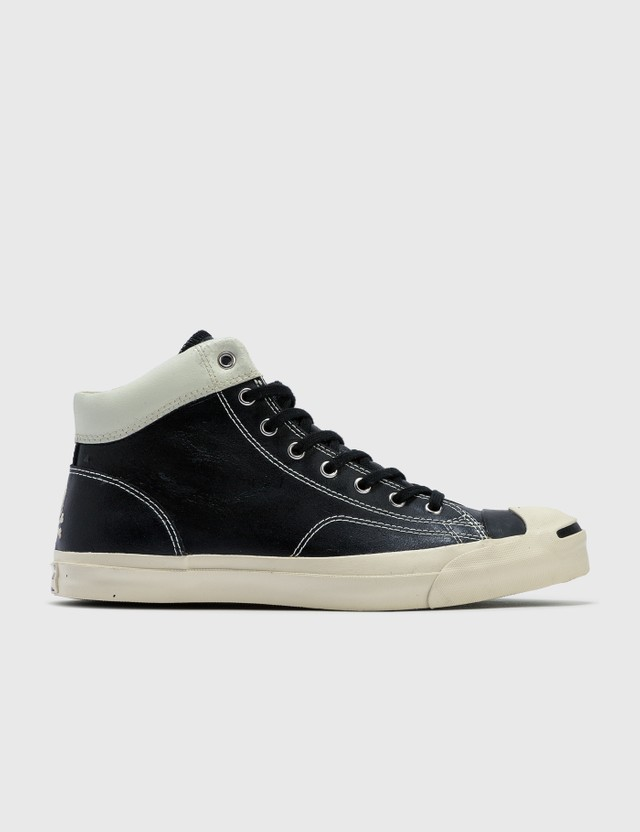 Mastermind Japan Mastermind Japan X Converse Leather Shoe Black Archives