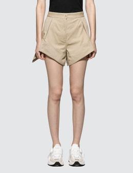 JW Anderson Chino Curved Hem Shorts