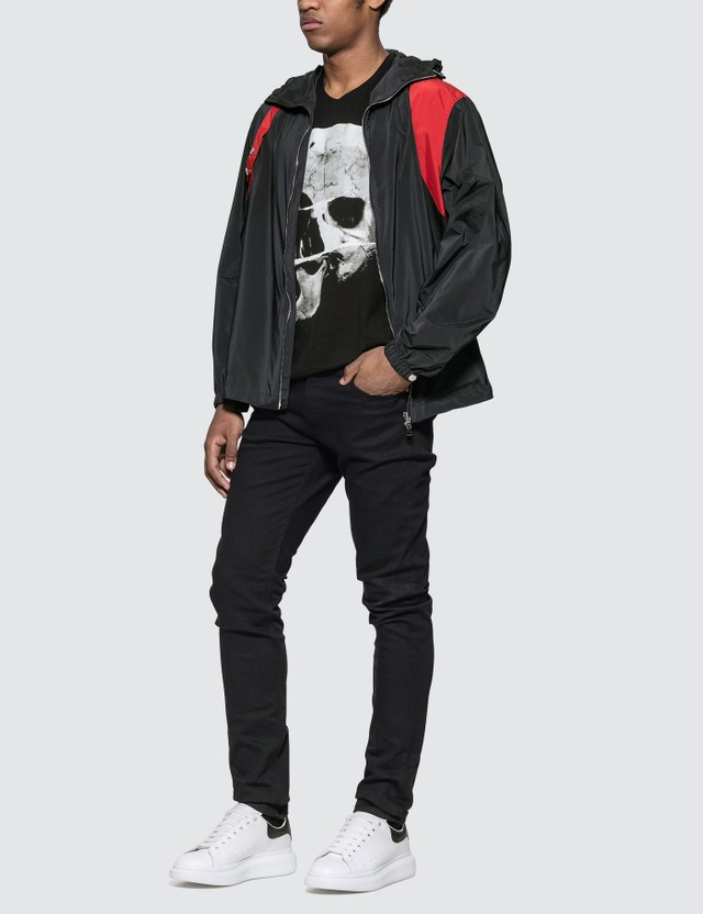 Alexander McQueen Harness Windbreaker Black Men