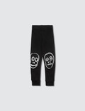 NUNUNU Skull Mask Patch Leggings Picture