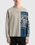Stone Island Mural Graphic Long Sleeve T-Shirt 사진