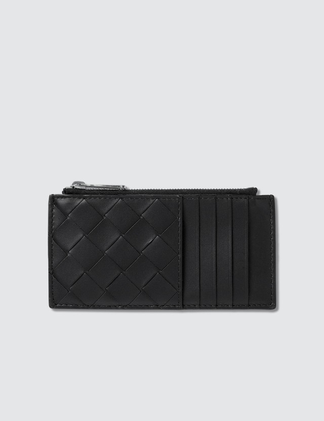 Bottega Veneta Intrecciato Leather Coin Purse