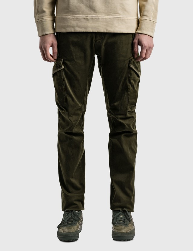 CP Company Lens Trousers Ivy Green Men