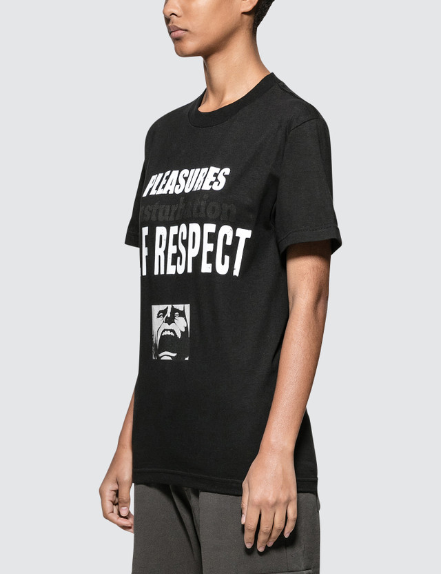 Pleasures Self Respect Short Sleve T-shirt Black Women
