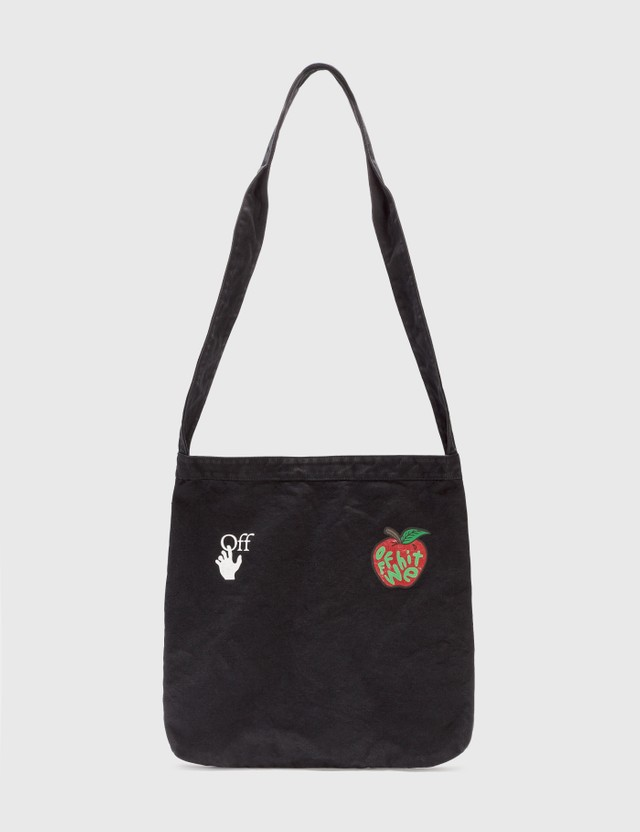 Off-White Apple Shoulder Bag Black Men