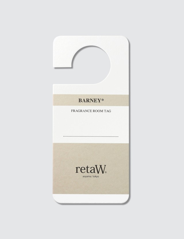 Retaw BARNEY* Fragrance Room Tag